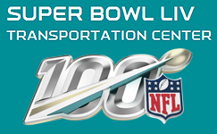 Super Bowl LIV Transportation Center